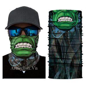 Khan Tubb da nang Hulk